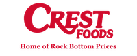 A theme logo of Crest Foods