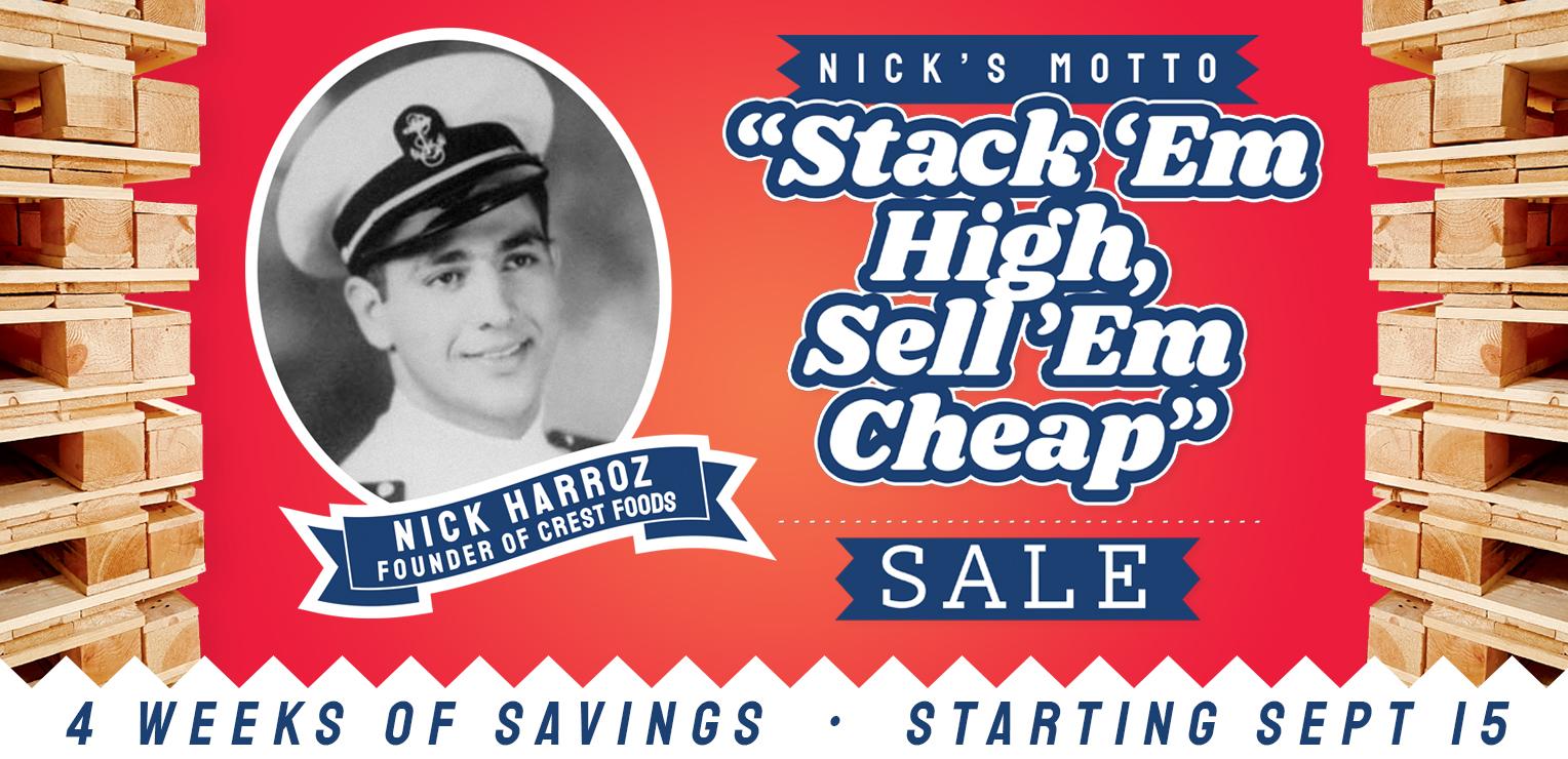 Stack Em High Sell Em Cheap